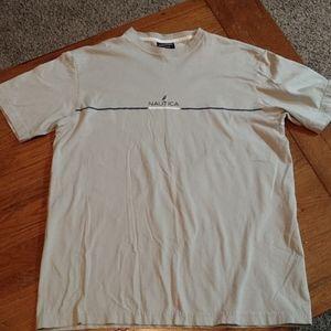 Gray Nautica t-shirt, size small